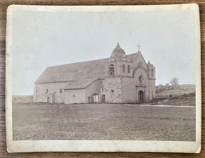 1880s   PHOTOGRAPH OF CARMEL MISSION...