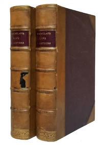 image of The Life and Letters of Lord Macaulay by His Nephew. In Two Volumes