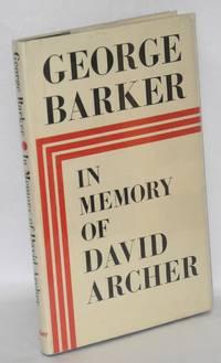 In Memory of David Archer