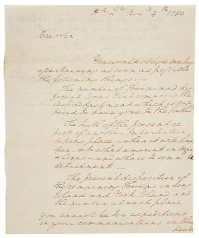 George Washington Asks His Spymaster...