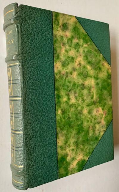 Paris: Librairie Delagrave, 1938. 3/4 leather. Near Fine. E. Carlegle. #90 of 100 copies (within the...