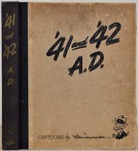 '41 and '42 A.D. Cartoons by Vaughn Shoemaker. Signed by Vaughn Shoemaker.