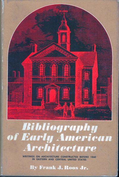Urbana: Univ. of Illinois Library, 1968. Hardcover. Orig. brown cloth. Fine in near fine dust wrappe...