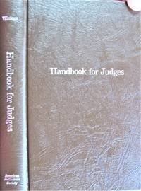 image of Handbook for Judges. An Anthology of Inspirational and Educational Writings for Members of the Judiciary