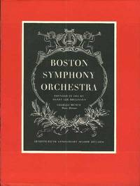 image of BOSTON SYMPHONY ORCHESTRA, Seventy-fifth Anniversary Season 1955-1956, The.