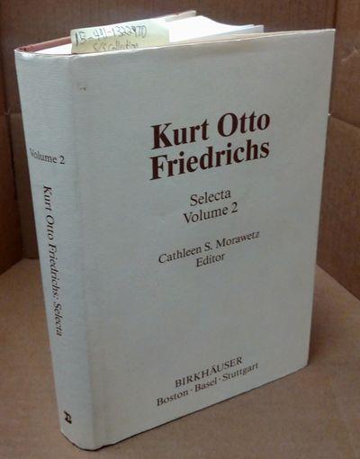 Boston: Birkhäuser, 1986. Hardcover. Quarto; VG- Hardcover w/ G+ Dustjacket; Off White spine with B...