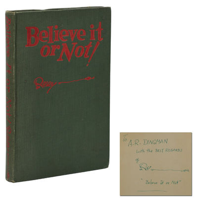New York: Simon and Schuster, 1929. First Edition. Very Good. First edition, first printing. Signed ...