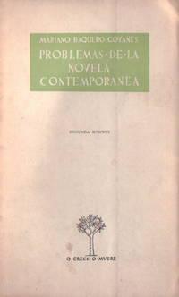 Problemas de la novela contemporánea by Baquero Goyanes, Mariano - 1956