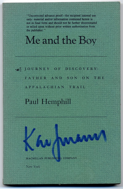 New York: Macmillan, 1986. Softcover. Fine. First edition, Uncorrected Proof with publisher's letter...