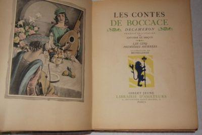 Paris: Gibert Jeune, Librarie D'Amateurs. Half Leather. Very Good. Brunelleschi, Umberto. 4to. No. 1...