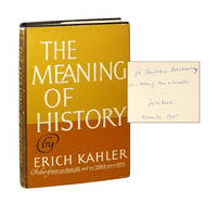 The Meaning of History [Signed & Inscribed to Theodosius Dobzhansky]