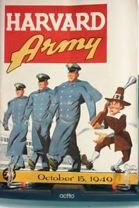 image of OCTOBER, 15 1949 HARVARD & ARMY FOOTBALL PROGRAM.