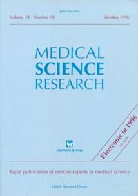 Medical Science Research  Volume 24, No. 10, October 1996