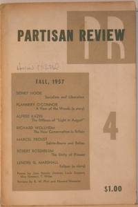 Partisan Review Fall 1957