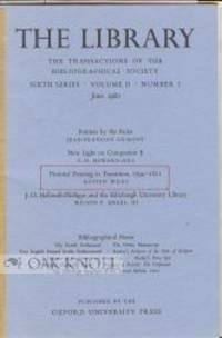 1980. later pamphlet binder with original paper wrappers bound-in. 8vo. later pamphlet binder with o...