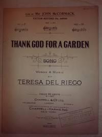 Thank God for a Garden