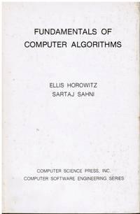 image of Fundamentals of Computer Algorithms (Autographed)