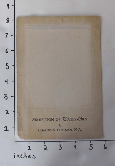 : , 1930. Pamphlet. Good- with clean text but missing cover image, age toning to front cover, and a ...
