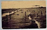 image of (Real Photo postcard) Bathing Scene Galveston, Tex. 1909
