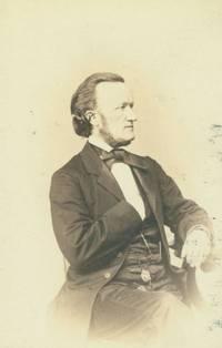 Carte-de-visite of Richard Wagner