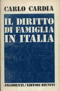 IL DIRITTO DI FAMIGLIA IN ITALIA