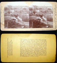 """Stereoview Photograph The Approach to """"Skansen,"""" Stockholm, Sweden"""