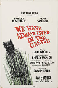 We Have Always Lived in the Castle (Original window card poster for the 1966 play)