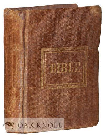 Boston, MA: R.H. Sherburne, 1840. original cloth, front cover gilt-stamped. Miniature Books. miniatu...