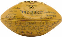 Run To Daylight with 1962 NFL Champions, Green Bay Packers Team Signed Football by  et al  Ray Nitschke - Signed First Edition - 1963 - from Idler Fine Books and Biblio.com