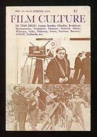 New York: Film Culture Non-Profit Corporation. Near Fine. 1972. Periodical. . (B&W photographs) This...