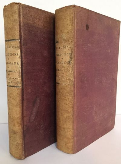 New York: Harper & Brothers, 1836. First edition. 8vo. 2 volumes: lxxx, -533; 576 pp. Folding map in...