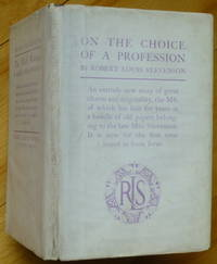 ON THE CHOICE OF A PROFESSION