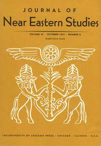 Journal of Near Eastern Studies (Vol 32, October 1973, No. 4)
