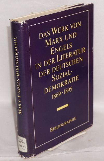 Berlin: Dietz Verlag, 1979. Hardcover. 504p., hardbound in openweave 8.5x6 inch cloth boards titled ...