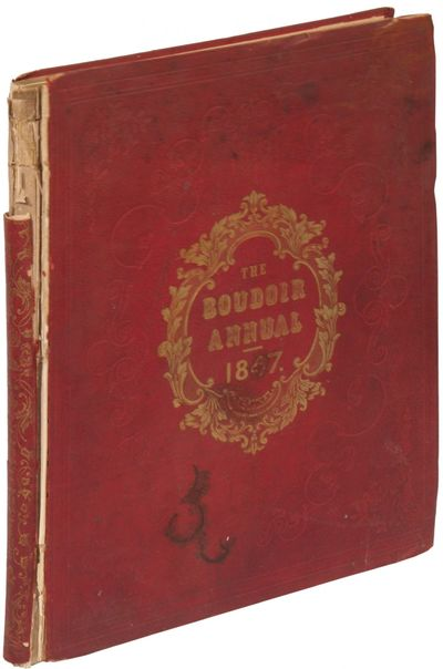 Philadelphia: Theodore Bliss and Co, 1847. Hardcover. Fair. First edition. Large quarto. 99 pp. Illu...