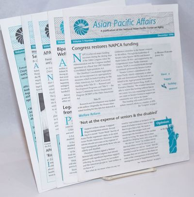 Seattle: National Asian Pacific Center on Aging, 1997. Five issues of the newsletter, a complete run...