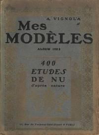 Mes Modeles Album 1905.  400 Etudes de Nu d'apres nature.  Du numéro 1 du 30 Avril 1905 au numero 18 du 20 Octobre 1905