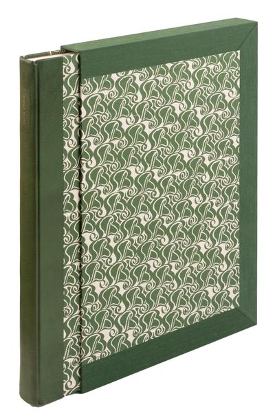 About 30 text pages printed on cream Zerkall laid paper, and 134 engravings printed from the origina...