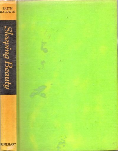 New York: Rinehart & Company, 1947. First Edition. Hardcover. Good. 8vo. , 250pp. Lime green cloth h...