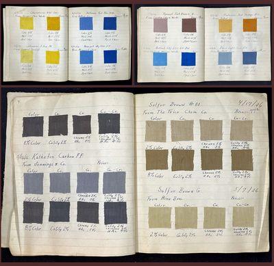 Company Dye Test  Sample and Formula...