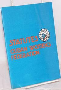 image of Statutes, Cuban women's federation