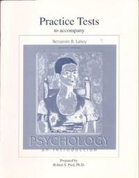 Practice Tests to Accompany Psychology An Introduction