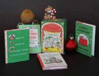 The Christmas Nutshell Library [, A Firefly In A Fir Tree, A Christmas  Stocking Story, The Night Before Christmas, Angels & Berries & Candy Canes  ] by  Hilary Knight - First Edition; First Printing - 1963 - from Books Tell You Why, Inc. and Biblio.com