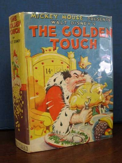 Racine WI: Whitman Publishing Co, 1937. Light brown cloth spine with four-color pictorial paper-wrap...