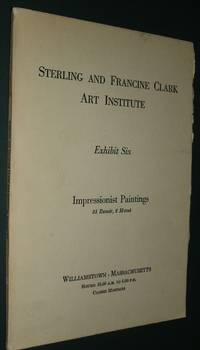 Sterling and Francine Clark Art Institute Exhibit Six 33 Renoir, 2 Mone