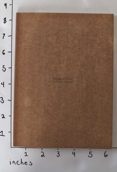 Danbury, New Hampshire: Addison House, 1978. Inscribed/signed by Duane Michals. Paperback. VG+/VG- (...