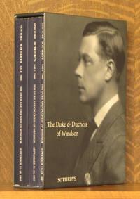 THE DUKE AND DUCHESS OF WINDSOR, SOTHEBY'S, NEW YORK, SEPTEMBER 11-19 1997 (3 VOL. SET - COMPLETE)