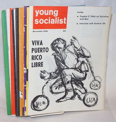 New York: Young Socialist Alliance, 1968. Twelve issues, 23 to 31 pages each, 8.5x11