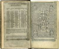 PRINTED BOOK OF HOURS (USE OF ROME); printed book on parchment, in Latin and French
