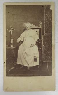 image of Carte de visite photograph of Pope Pius IX